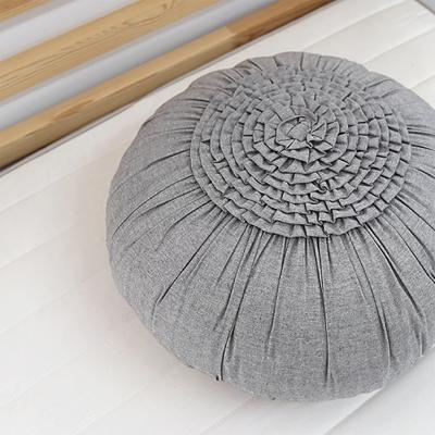 [콩지] 그레이 호박쿠션 50cm