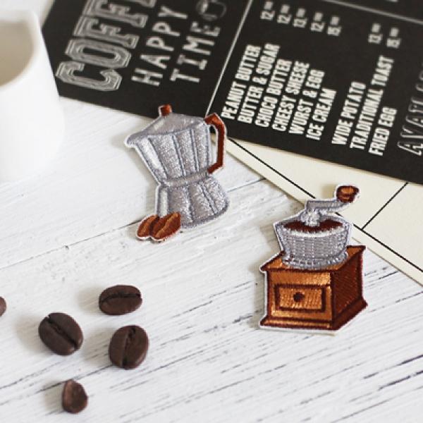 [콩지] 커피 그라인더 와펜