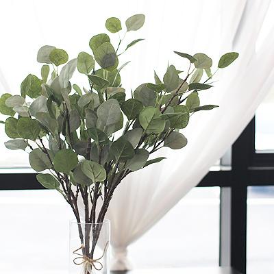 [콩지] 둥근잎 유칼립투스 조화