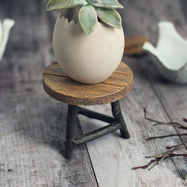 [콩지] 계란트레이 화분 - 원탁