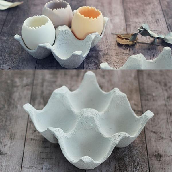 [콩지] 계란트레이 화분 - 4구