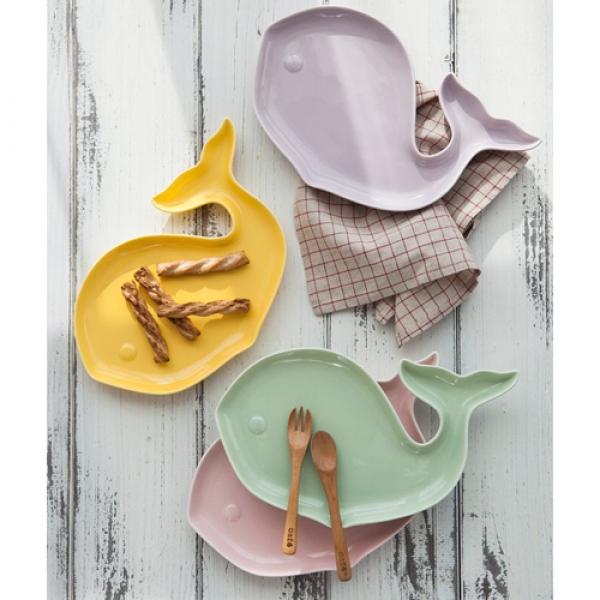 [DDUDDU] 파스텔 고래랑 접시