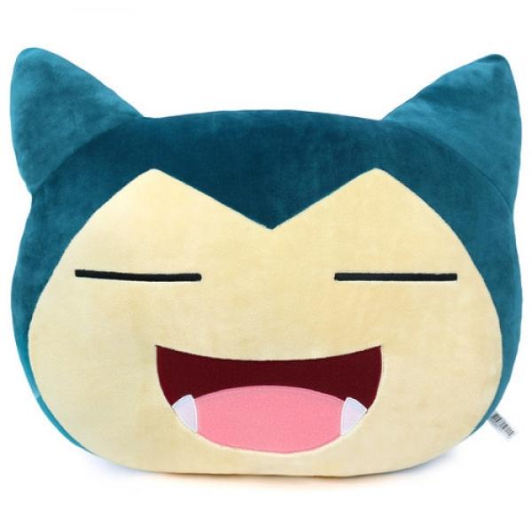 [포켓몬] 포켓몬 웃는 잠만보 얼굴쿠션 40cm