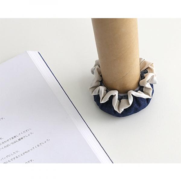 [CONZ] 데님 의자발커버 4P