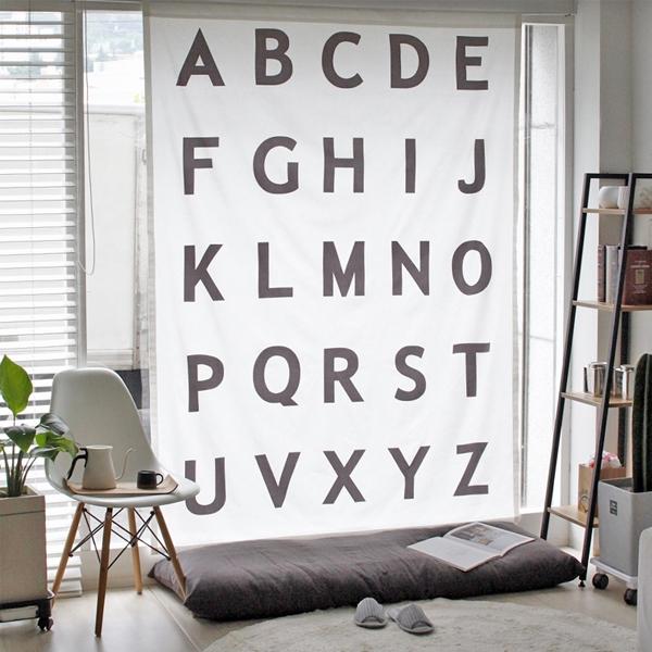 [2HOT] N 알파벳 커튼 145x200