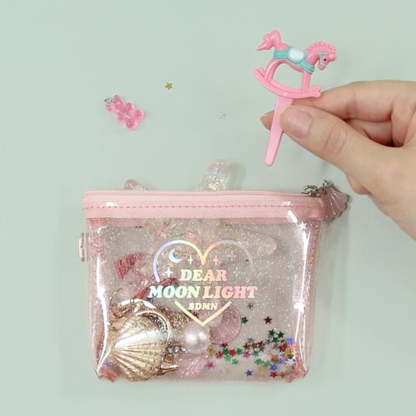 [PLAN d] 문라잇 트윙클 동전 지갑