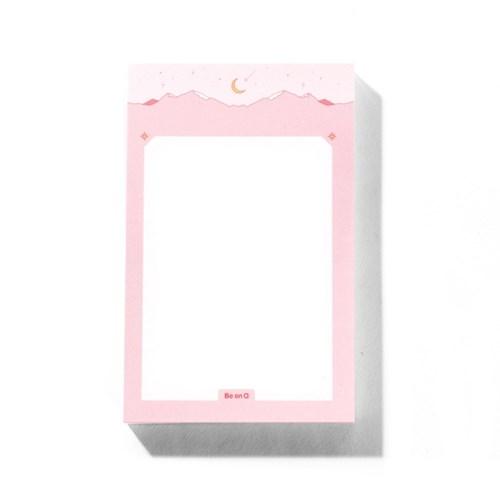 [비온뒤] 비온뒤 핑크 마운틴 메모지