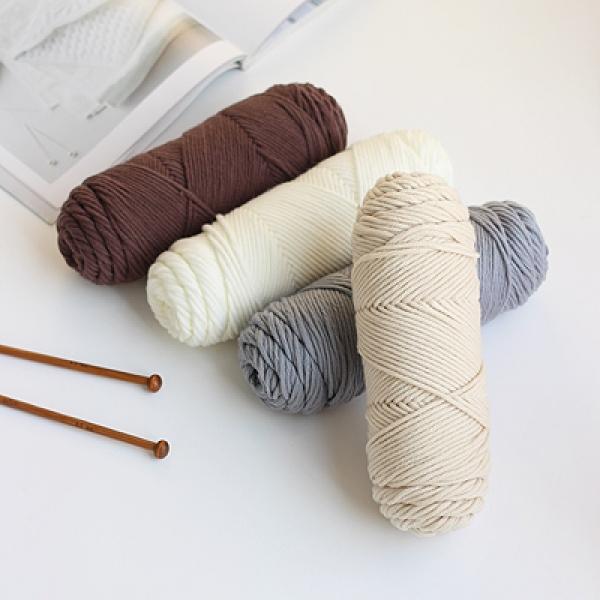 [콩지] 양모 뜨개 털실