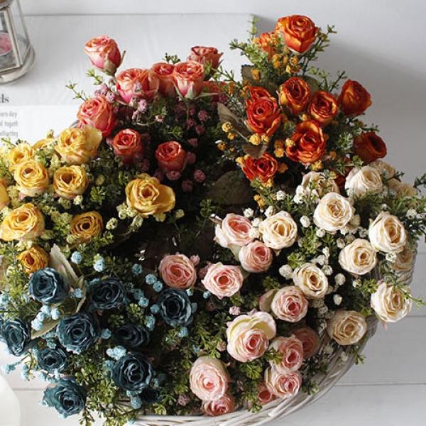 [2HOT] 사랑 장미 다발 조화