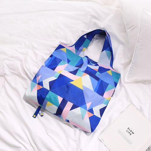 [피트래블] PT 패턴 쇼핑백 BL