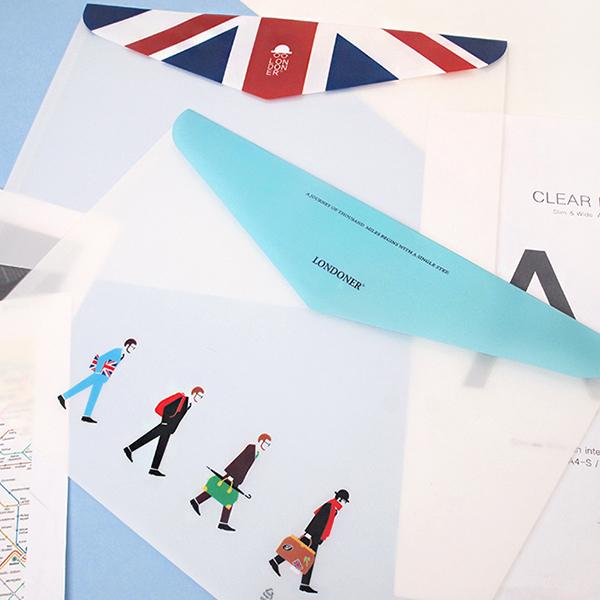 [2young] 런던 가로 봉투 파일 5 SET