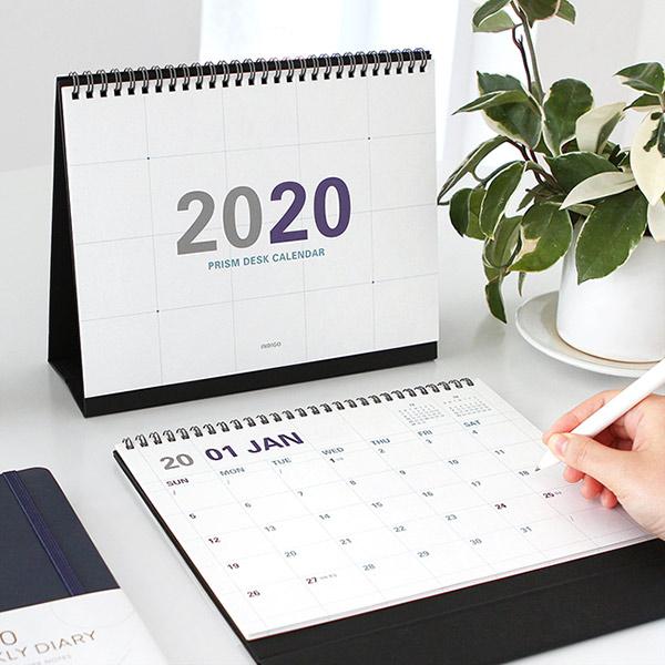 [Indigo] 2020년도 프리즘 탁상용 달력