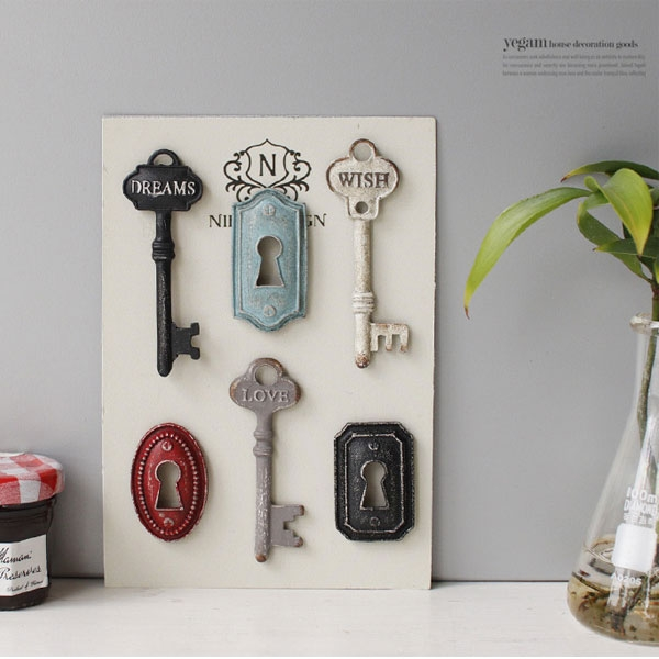 [2HOT] 열쇠 자석 6P