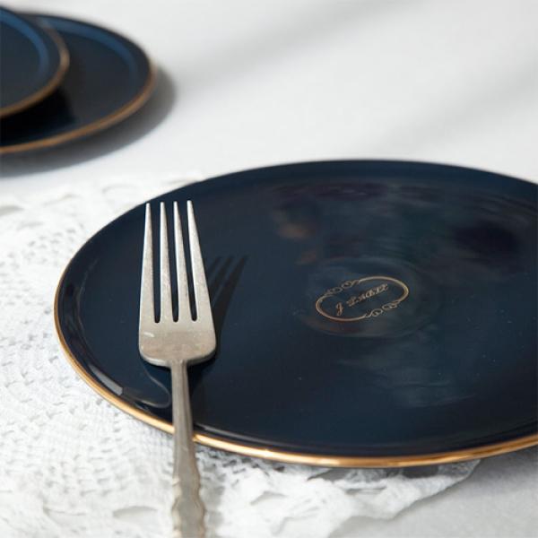 [DDUDDU] 아덴 골드라인 원형 접시 중 BR