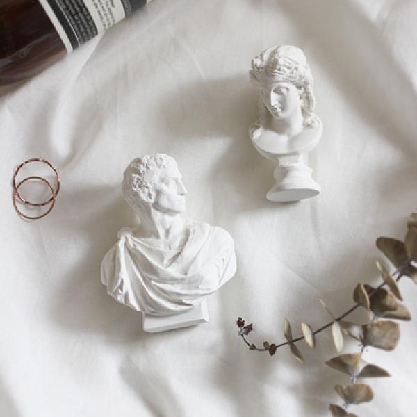 [콩지] 미니 석고상