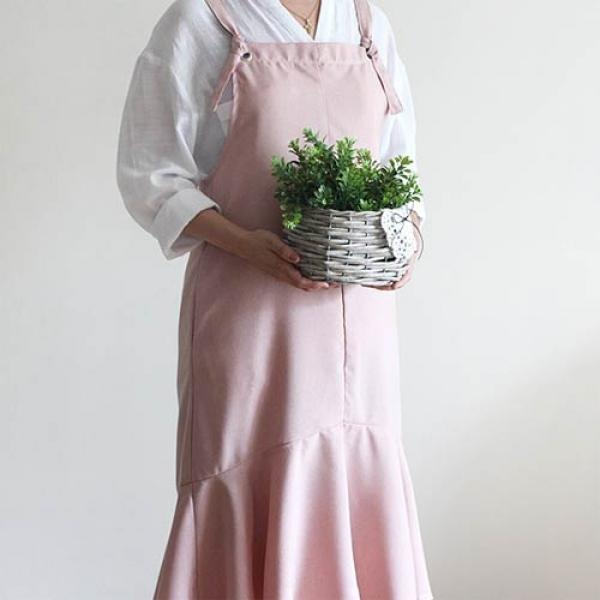 [콩지] 원프릴 앞치마