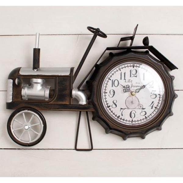 [2HOT] 빈티지 클래식카 탁상시계 큰바퀴