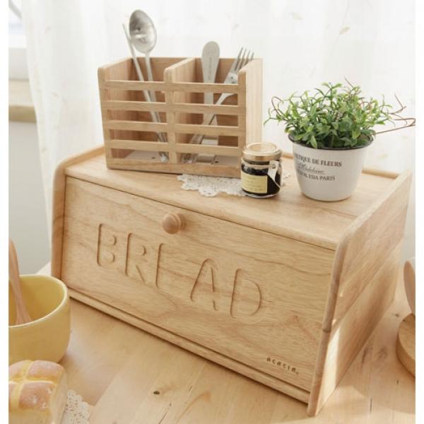 [ACACIA] 우드 빵보관함