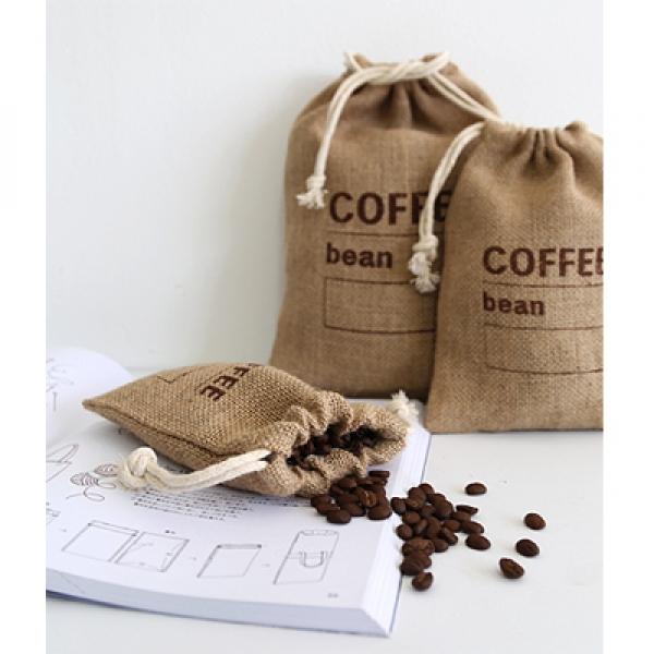 [콩지] 쥬트 커피주머니 소