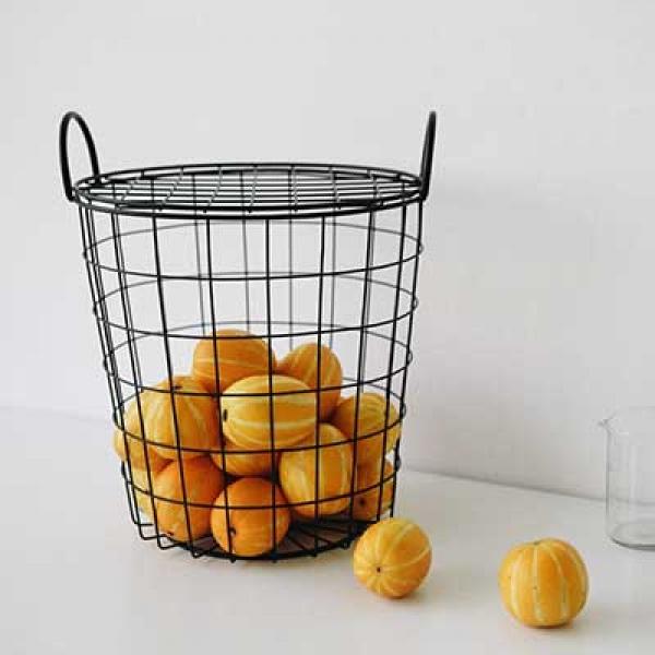 [DAILYLIKE] Wire round basket M